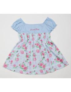 Платье голубое на малышку прелесть